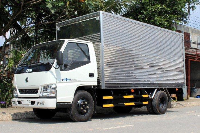 Xe tải SYM 1,7 tấn thùng kín - bỏ vốn ít, thu lợi nhiều 3