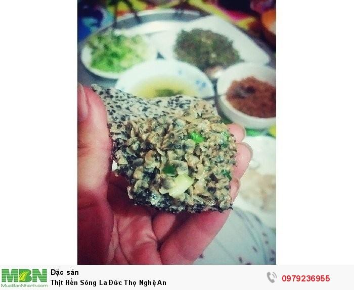 Thịt Hến Sông La Đức Thọ Nghệ An1