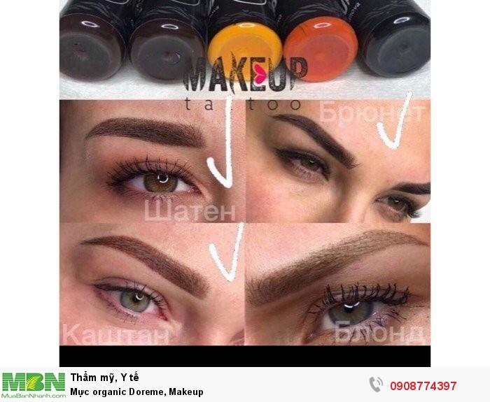 Mực organic Doreme, Makeup1