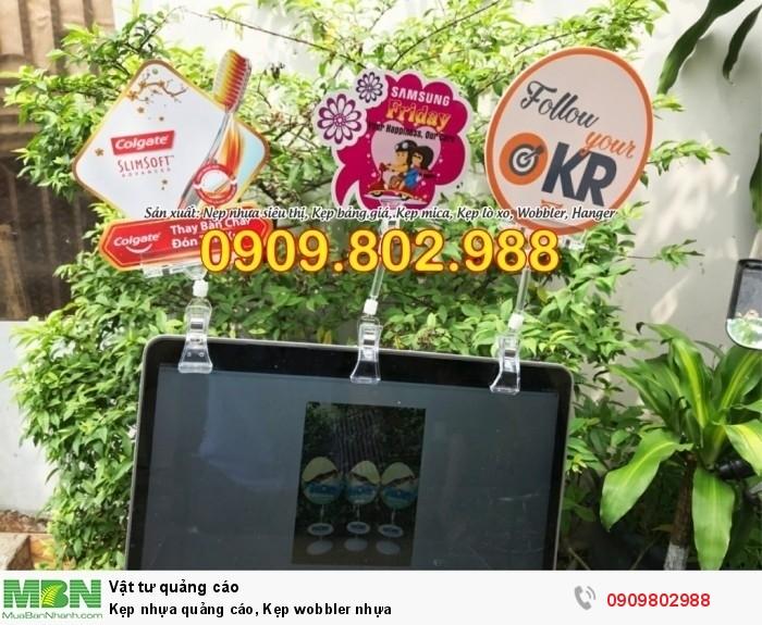 Kẹp nhựa quảng cáo, Kẹp wobbler nhựa7