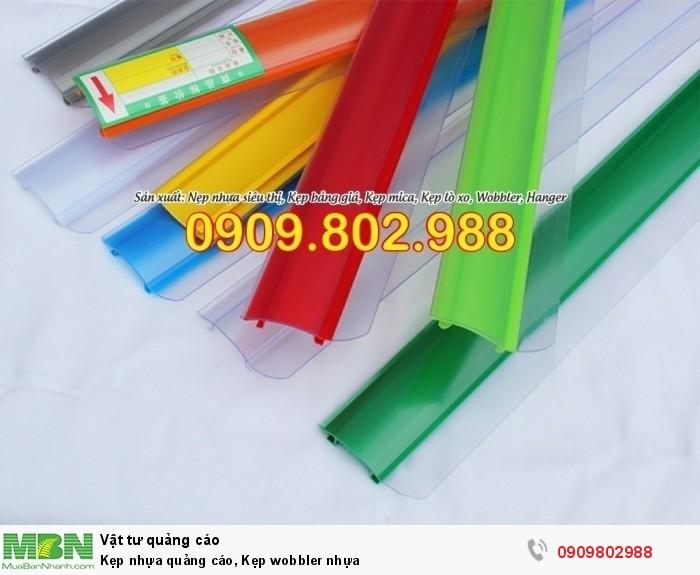 Kẹp nhựa quảng cáo, Kẹp wobbler nhựa20