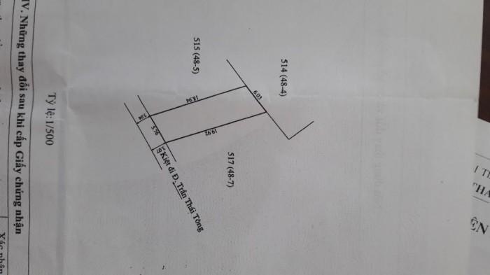 Bán đất liền kề KQH Bàu Vá 2 - Đường ô tô - 110m2