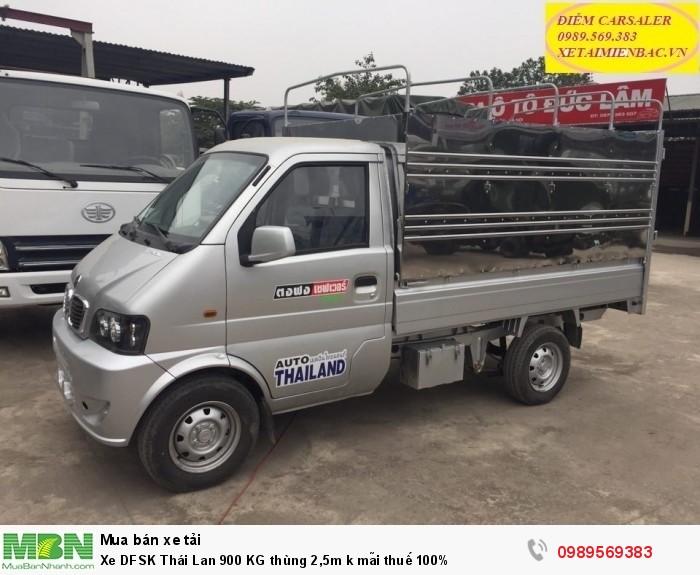 Xe DFSK Thái Lan 900 KG thùng 2,5m k mãi thuế 100%
