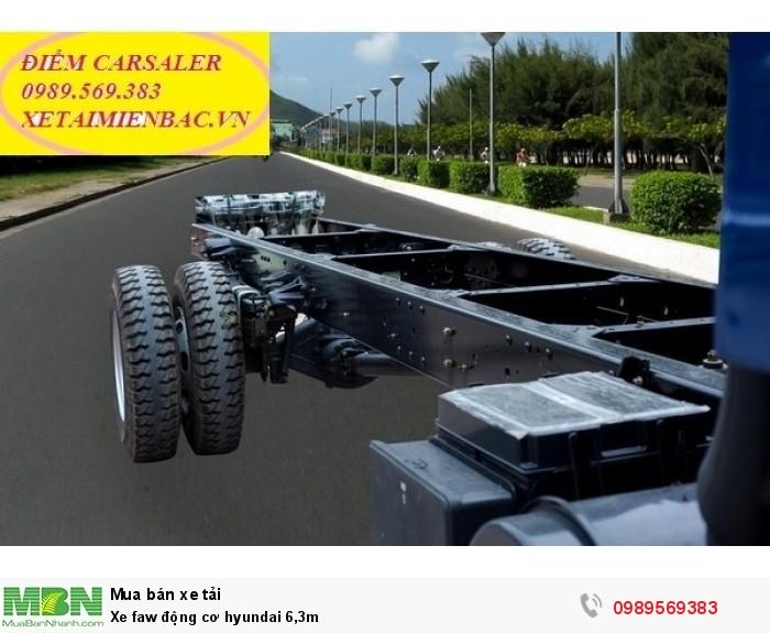 Xe faw động cơ hyundai 6,3m 2