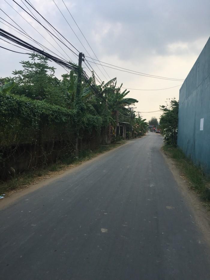 Đất mặt tiền đường oto, xã Hưng Long, huyện Bình Chánh