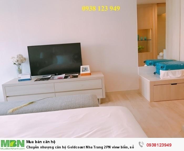 Chuyển nhượng căn hộ Goldcoast Nha Trang 2PN view biển, sổ hồng vĩnh viễn