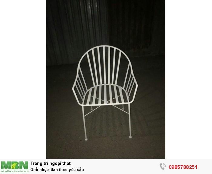 Ghế nhựa đan theo yêu cầu1