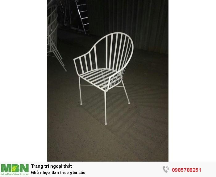 Ghế nhựa đan theo yêu cầu2
