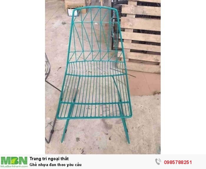 Ghế nhựa đan theo yêu cầu3