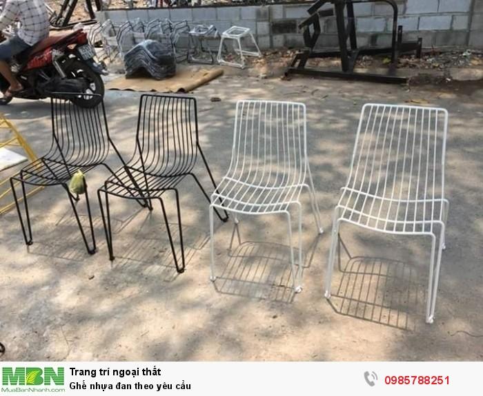 Ghế nhựa đan theo yêu cầu4