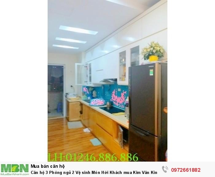 Căn hộ 3 Phòng ngủ 2 Vệ sinh Món Hời Khách mua Kim Văn Kim Lũ