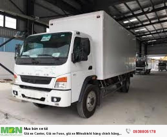 Giá xe Canter, Giá xe Fuso, giá xe Mitsubishi hàng chính hãng, nhập khẩu bởi Trường Hải.