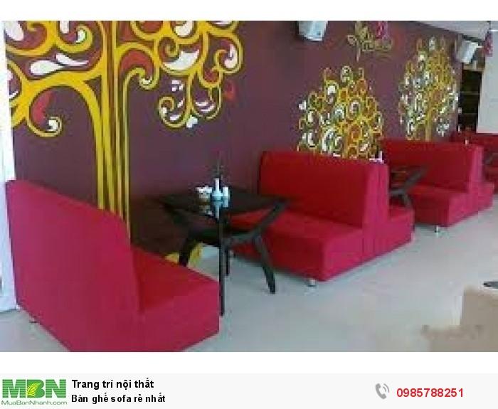 Bàn ghế sofa rẻ nhất0