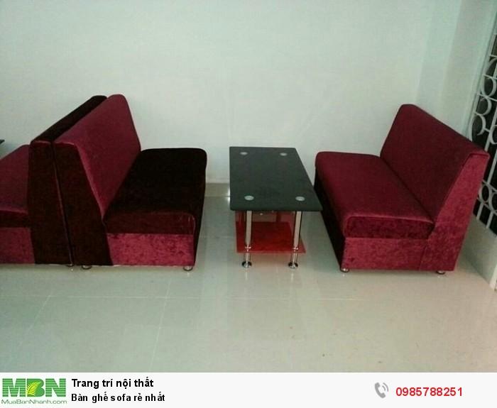 Bàn ghế sofa rẻ nhất1