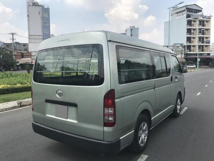Nhà dư dùng bán Toyota Hiace 2007 bán tải chở hàng và chở người 06 chỗ