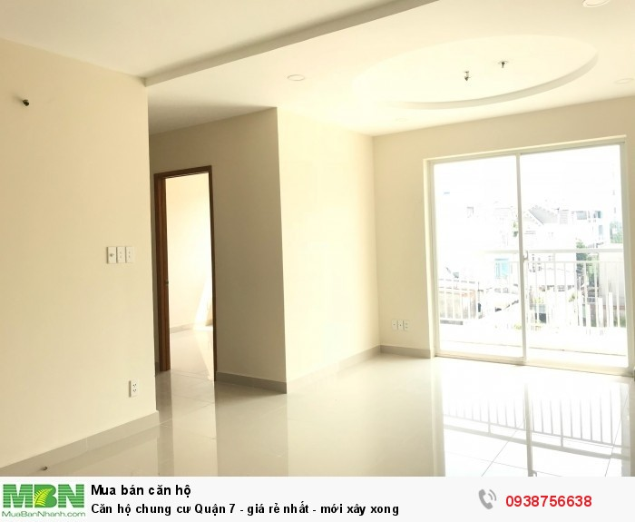 Căn hộ nhận nhà ở ngay - căn hộ chung cư Q7