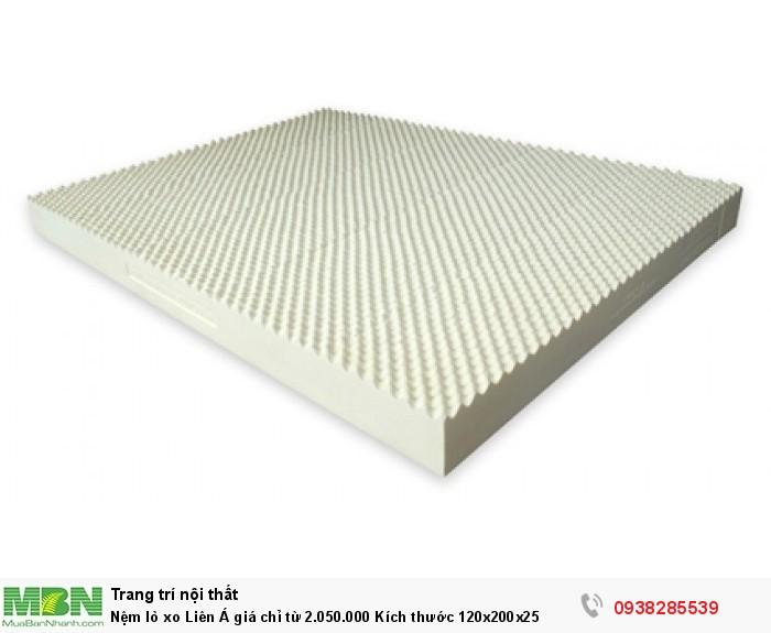 Nệm lò xo Liên Á giá chỉ từ 2.050.000 Kích thước 120x200x25