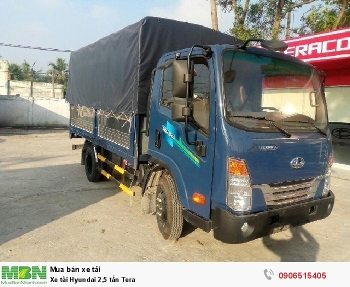Xe tải Hyundai 2,5 tấn Tera
