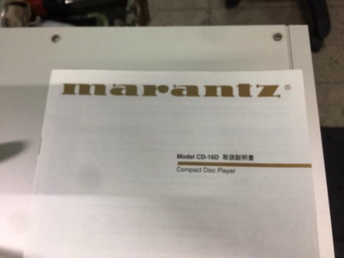 Chuyên bán CD Marantz 16D hàng bải1