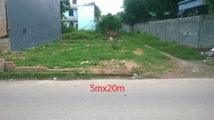 Bán đất đường Nguyễn An Ninh thị trấn Cần Giuộc giá 480 triệu 100m2 thổ