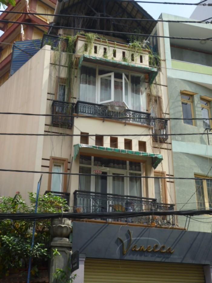 Bán nhà Trần Huy Liệu P15, Q Phú Nhuận. 4,3x12 . 1 trệt, 2 lầu, ST