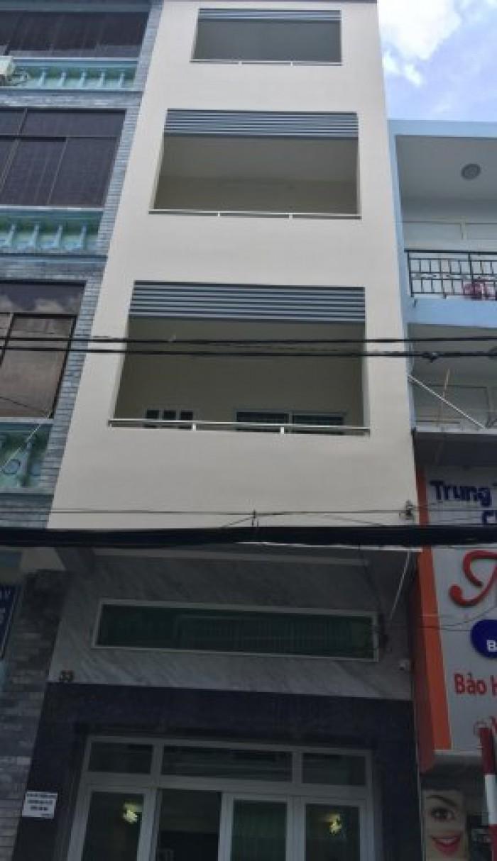 Cho thuê nhà MT Bàn Cờ, Quận 3, dt: 4x20m