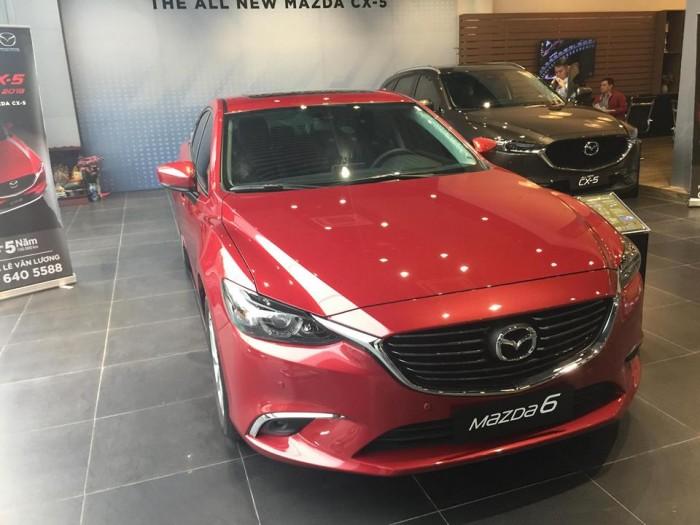 Mazda 6 2.0L FL Premium 2018 Giá tốt nhất Hà Nội , hỗ trợ trả góp 80% giá trị xe
