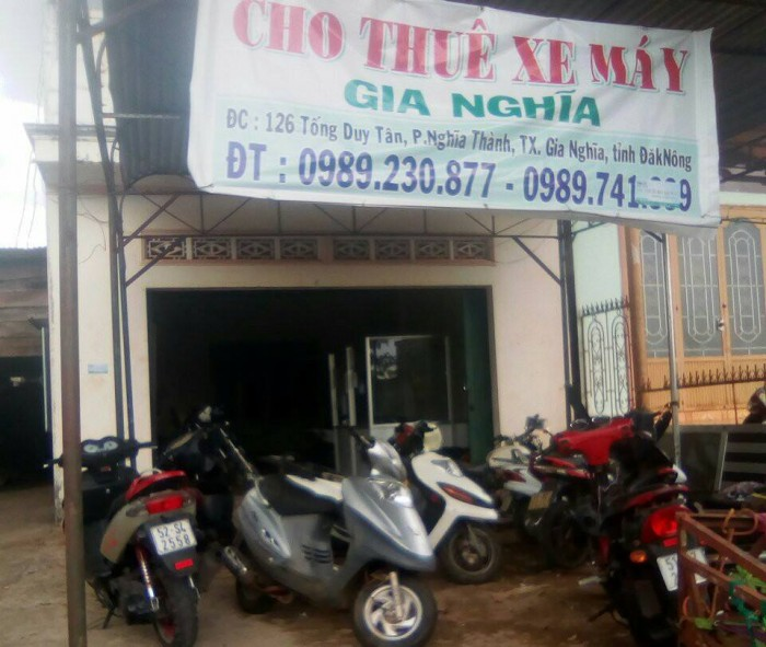 Cho thuê xe máy tại Đak Nông 4