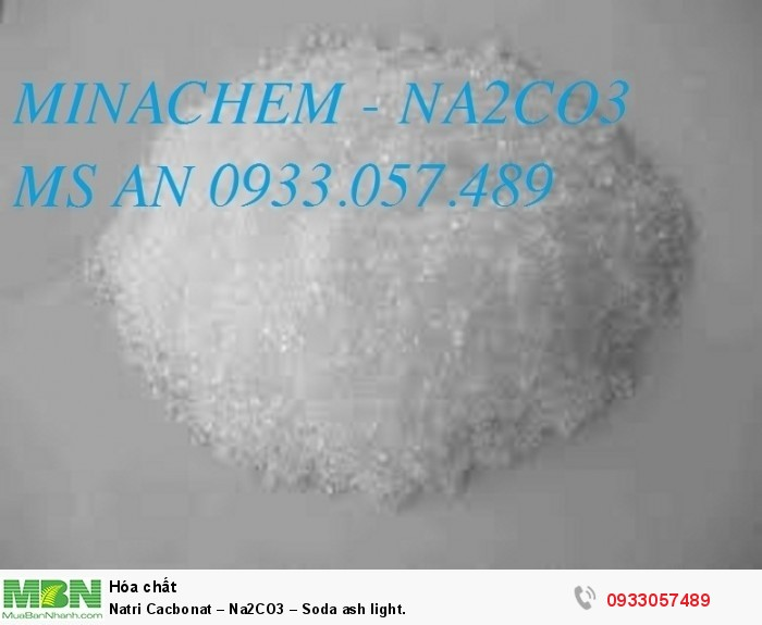 Natri Cacbonat – Na2CO3 – Soda ash light.0