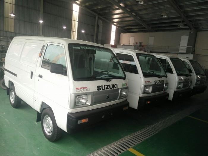 Xe bán tải Suzuki Van ( su cóc ) giá rẻ nhất tại Hà Nội, khuyến mại lớn 30/4