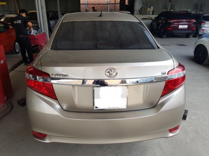 Bán Toyota Vios E 2016, màu đồng, đúng chất, giá thương lượng, hổ trợ góp