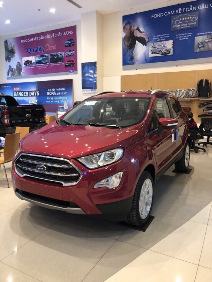 Ford Ecosport Titanium 2018 tặng bảo hiểm thân vỏ 1