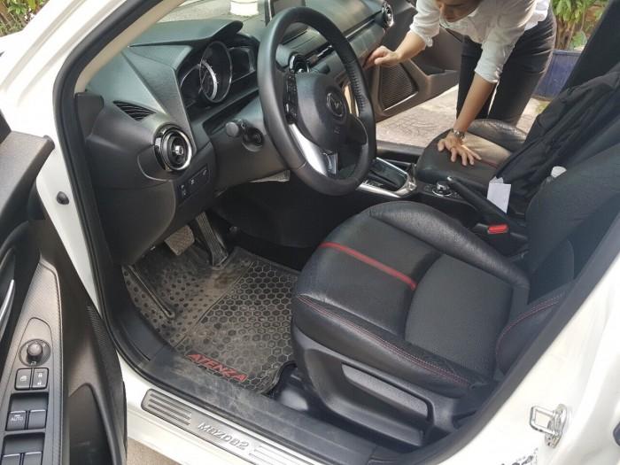 Bán Mazda 2 1.5AT Sedan 2016, màu trắng, biển TP, giá thương lượng, hỗ trợ góp 4