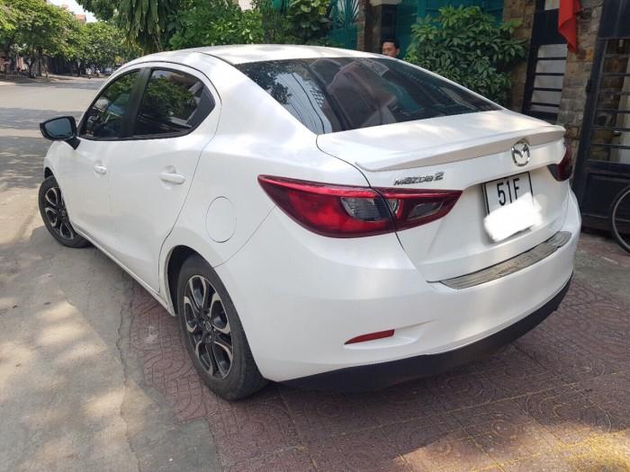 Bán Mazda 2 1.5AT Sedan 2016, màu trắng, biển TP, giá thương lượng, hỗ trợ góp 5