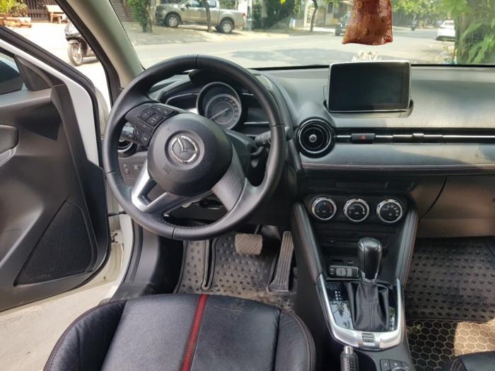 Bán Mazda 2 1.5AT Sedan 2016, màu trắng, biển TP, giá thương lượng, hỗ trợ góp 2