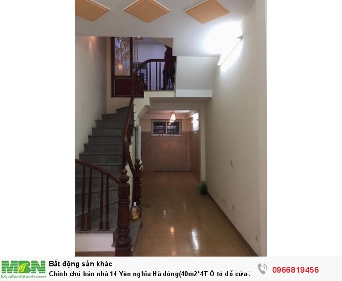 Chính chủ bán nhà 14 Yên nghĩa Hà đông(40m2*4T-Ô tô đỗ cửa-2 mặt thoáng)