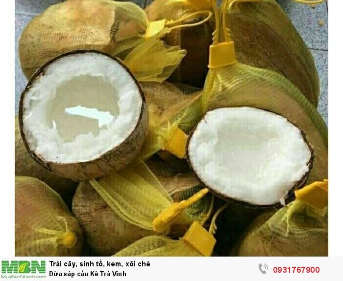 Dừa Sáp loại 3 giá rẻ0