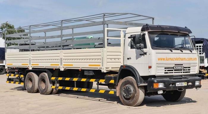 Xe tải thùng Kamaz 53229 Long nhập khẩu từ Nga