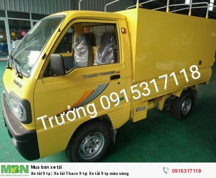 Xe tải 9 tạ | Xe tải Thaco 9 tạ| Xe tải 9 tạ màu vàng 0