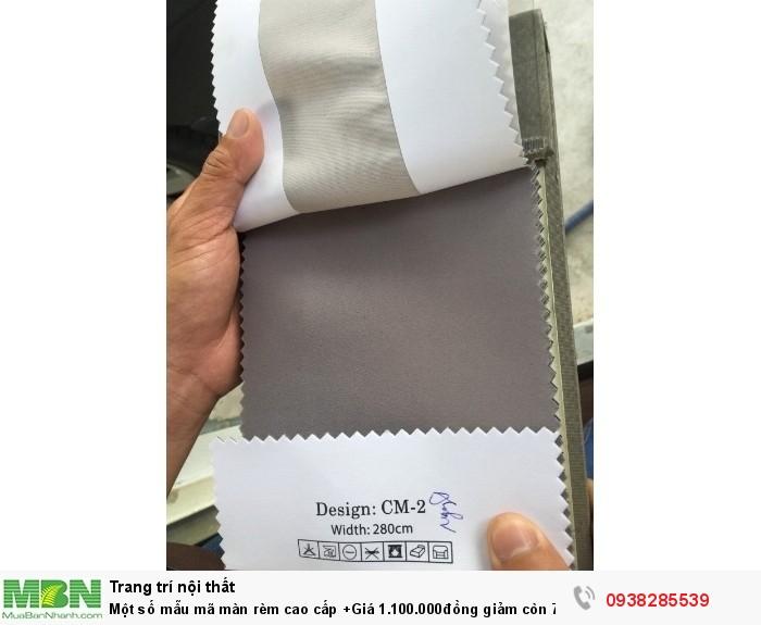Một số mẫu mã màn rèm cao cấp +Giá 1.100.000đồng giảm còn 750.000 đồng/mét ngang Bao gồm thi công hoàn hiện0