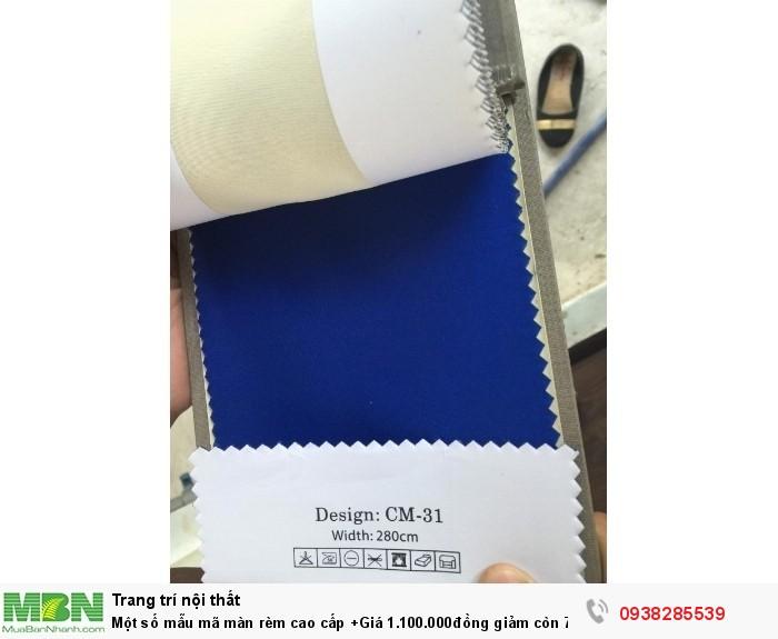 Một số mẫu mã màn rèm cao cấp +Giá 1.100.000đồng giảm còn 750.000 đồng/mét ngang Bao gồm thi công hoàn hiện4