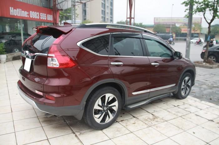 Honda CRV 2.4L màu Đỏ bọc đô, sản xuất và đăng kí 2016. 2