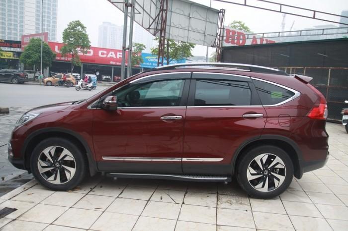 Honda CRV 2.4L màu Đỏ bọc đô, sản xuất và đăng kí 2016. 13