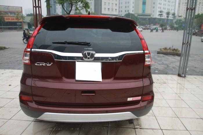 Honda CRV 2.4L màu Đỏ bọc đô, sản xuất và đăng kí 2016. 12