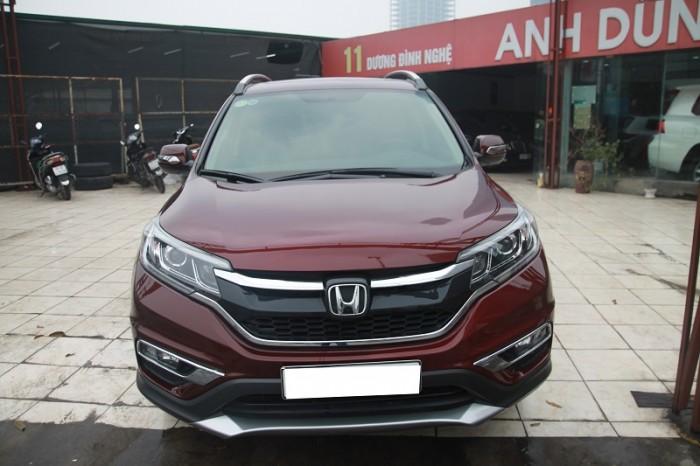 Honda CRV 2.4L màu Đỏ bọc đô, sản xuất và đăng kí 2016. 9