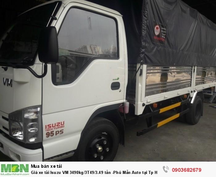 Thùng xe tải Isuzu 3.49 tấn dài 4.3 mét