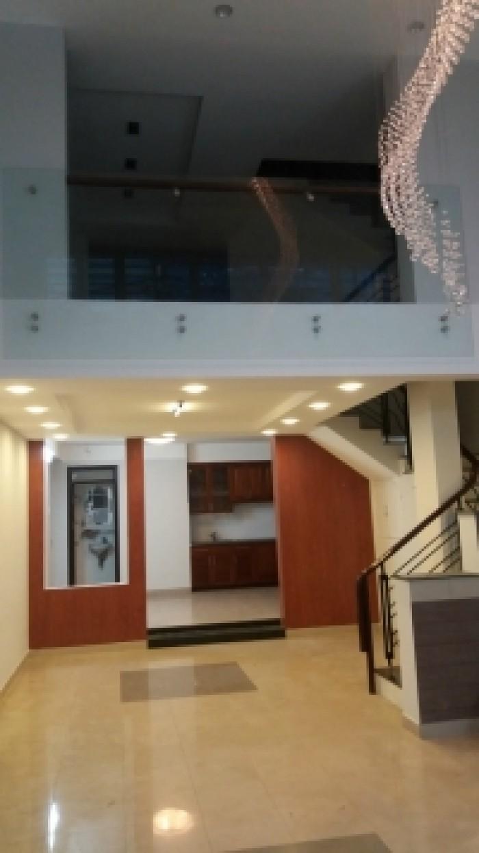 Cho thuê nhà HXH 3 tháng 2, Q. 10, 7x12m, 4 lầu, 30 tr/th tl