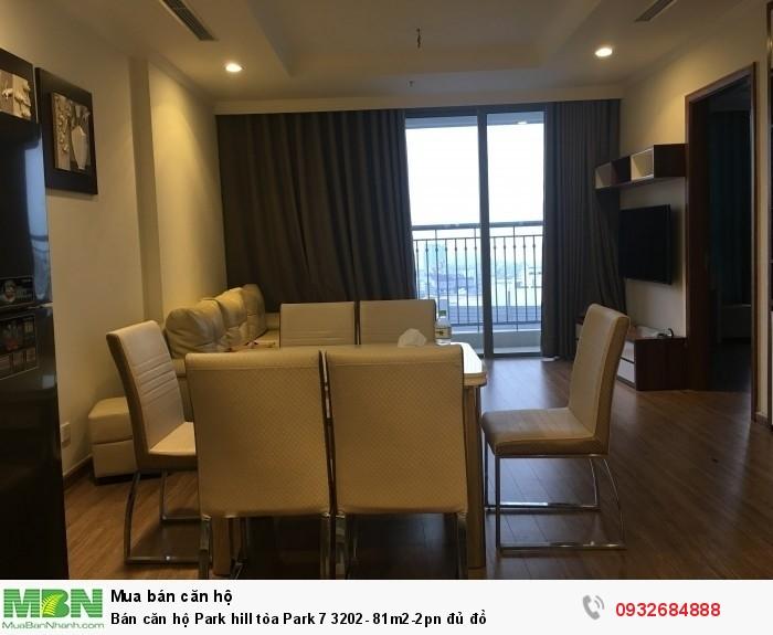 Bán căn hộ Park hill tòa Park 7 3202- 81m2-2pn đủ đồ