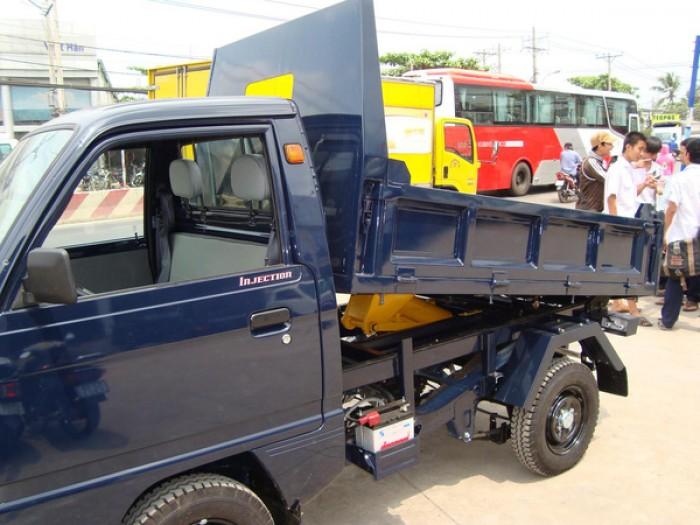 Xe tải ben Suzuki nhật bản 500kg giá rẻ tại Bình dương 1