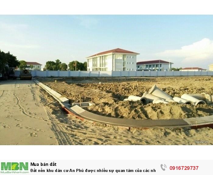 Đất nền khu dân cư An Phú được nhiều sự quan tâm của các nhà đầu tư